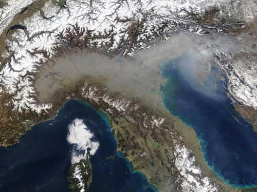 Ατμοσφαιρική Ρύπανση στην Ιταλία