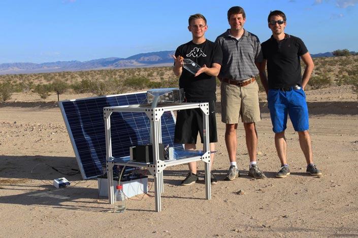 Νερό στην έρημο : Η συσκευή που θα προσπαθήσει να βάλει τέλος στη λειψυδρία