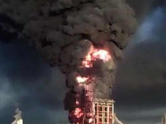 Έκρηξη σε διυλιστήρια της Eni στην Ιταλία