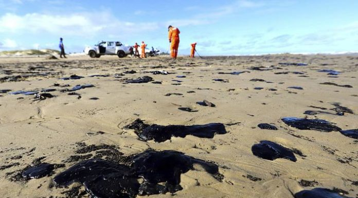 600 τόνοι πετρελαίου μολύνουν τα νερά της Βραζιλίας