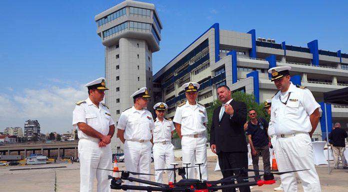 Έλεγχος καυσαερίων για τα πλοία του Πειραιά με τη χρήση drone
