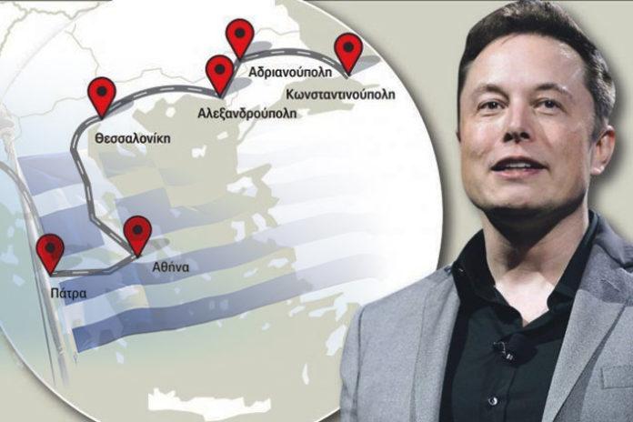 Η Λεωφόρος της Tesla από Πάτρα έως Ηγουμενίτσα
