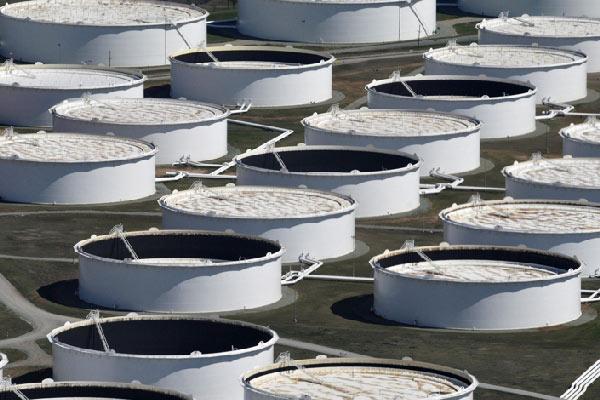 Χώρος αποθήκευσης πετρελαίου Cushing Οκλαχόμα