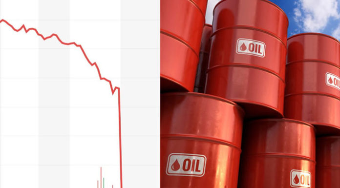 Σοκαριστική πτώση για το πετρέλαιο - αρνητικές τιμές